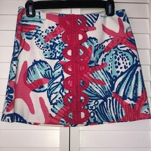 Lilly Pulitzer mini skirt